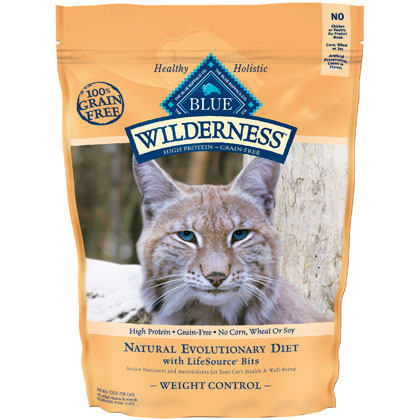 Blue Buffalo Wilderness Weight Control Dry Cat Food (Click for Larger Image)
