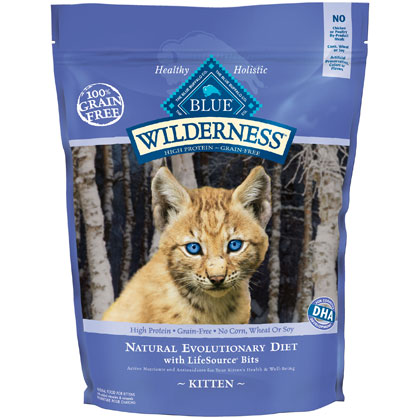 Blue Buffalo Wilderness Kitten Food (Click for Larger Image)
