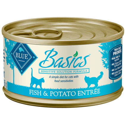 Blue Buffalo Basics Wet Cat Food (Click for Larger Image)