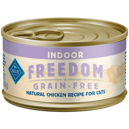 Blue Buffalo Freedom Canned Indoor Cat Food  (Click for Larger Image)