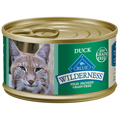 Blue Buffalo Wilderness Wet Cat Food  (Click for Larger Image)