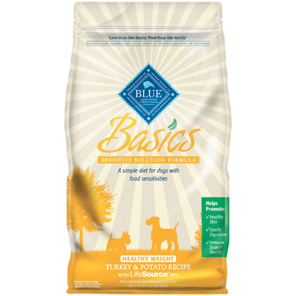 Blue Basics Healthy Weight Adult Dry Dog Food (Click for Larger Image)