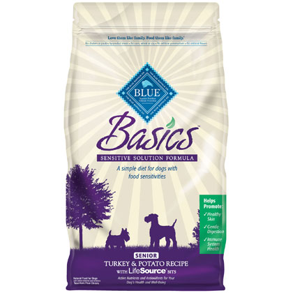 Blue Buffalo Basics Senior Dry Dog Food (Click for Larger Image)