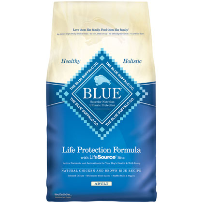 Blue Buffalo Adult Dry Dog Food (Click for Larger Image)