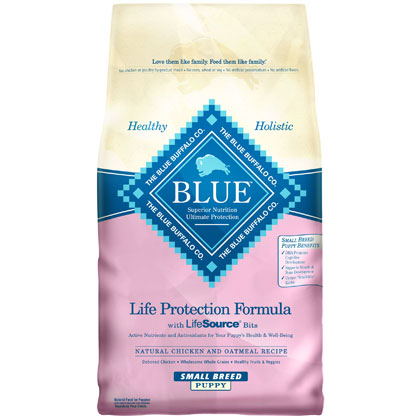 Blue Buffalo Dry Small Breed Puppy Food (Click for Larger Image)