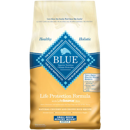 Blue Buffalo Healthy Weight Small Breed Adult Dog Food (Click for Larger Image)