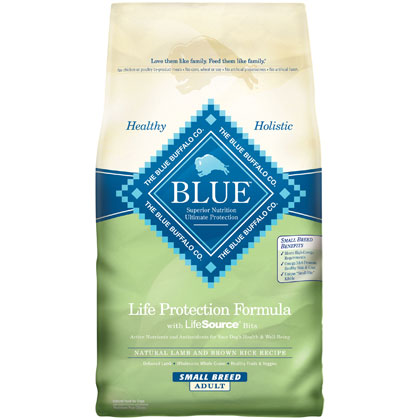 Blue Buffalo Small Breed Adult Dry Dog Food (Click for Larger Image)