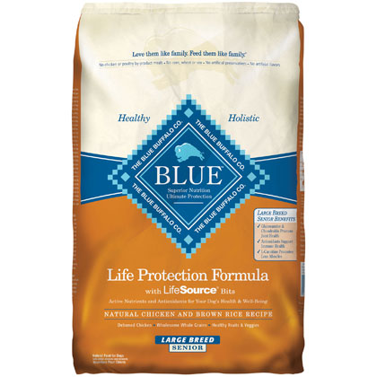 Blue Buffalo Large Breed Senior Dry Dog Food (Click for Larger Image)