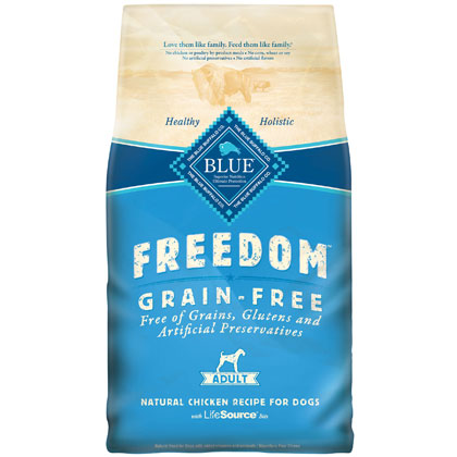Blue Buffalo Freedom Adult Dry Dog Food (Click for Larger Image)