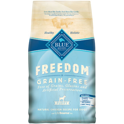 Blue Buffalo Freedom Dry Puppy Food  (Click for Larger Image)