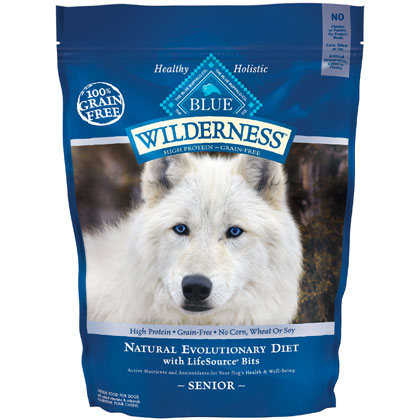 Blue Buffalo Wilderness Senior Dry Dog Food (Click for Larger Image)