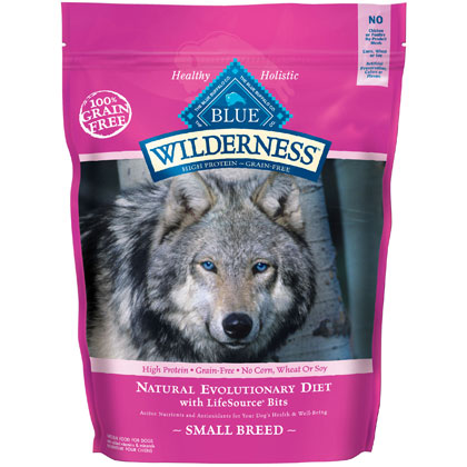 Blue Buffalo Wilderness Small Breed Dry Dog Food (Click for Larger Image)