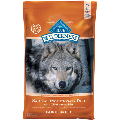 Blue Buffalo Wilderness Large Breed Dry Dog Food (Click for Larger Image)