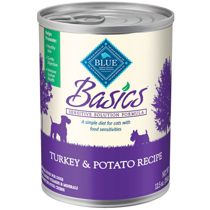 Blue Buffalo Basics Canned Dog Food (Click for Larger Image)