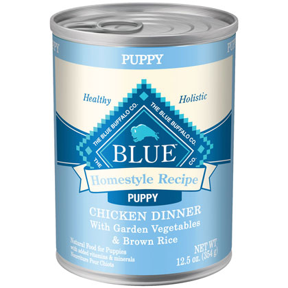 Blue Buffalo Homestyle Recipe Canned Puppy Food (Click for Larger Image)