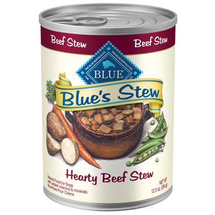 Blue Buffalo Blue's Stew Canned Dog Food (Click for Larger Image)