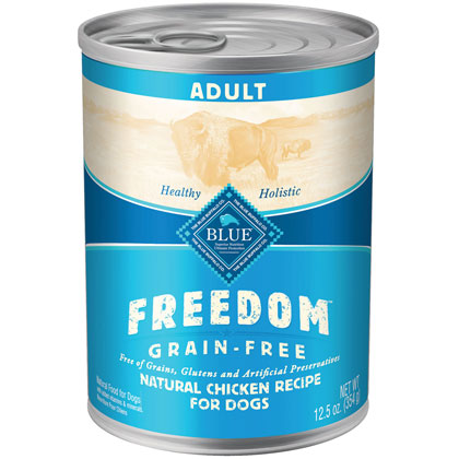 Blue Buffalo Freedom Adult Canned Dog Food (Click for Larger Image)