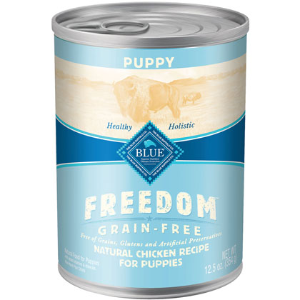 Blue Buffalo Freedom Canned Puppy Food  (Click for Larger Image)