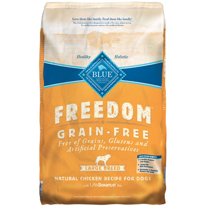 Blue Buffalo Freedom Large Breed Adult Dry Dog Food (Click for Larger Image)