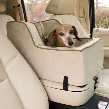 Snoozer High-Back Console Pet Car Seat (Click for Larger Image)