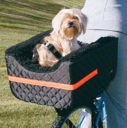 Snoozer Pet Rider Bicycle Seat Lookout (Click for Larger Image)
