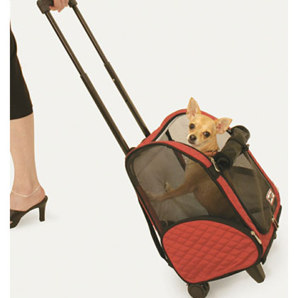 Snoozer Roll Around Travel Pet Carrier (Click for Larger Image)