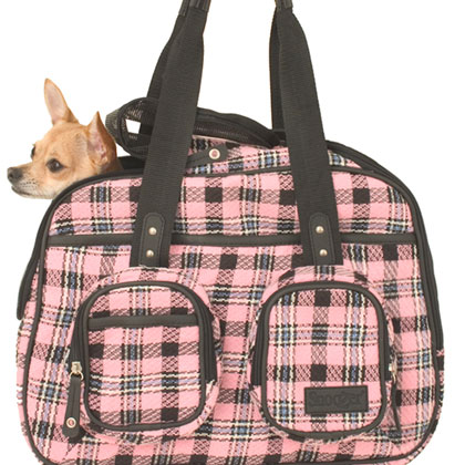 Snoozer Deluxe Pet Tote Bag & Dog Carrier (Click for Larger Image)