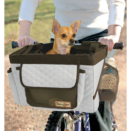 Snoozer Pet Bicycle Basket  (Click for Larger Image)