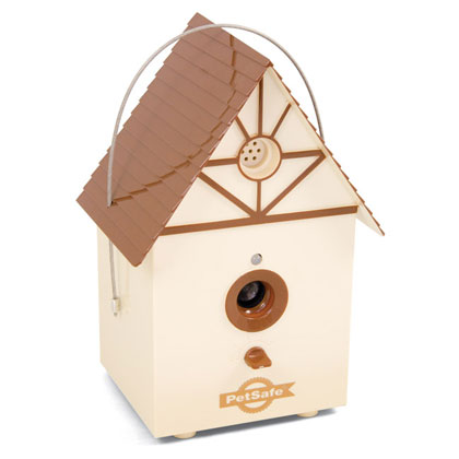 Petsafe Outdoor Bark Control Birdhouse  (Click for Larger Image)