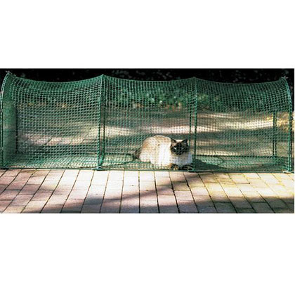 Kittywalk Portable Outdoor Cat Tunnel (Click for Larger Image)