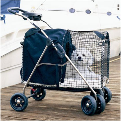 Kittywalk Fifth Avenue Pet Stroller (Click for Larger Image)