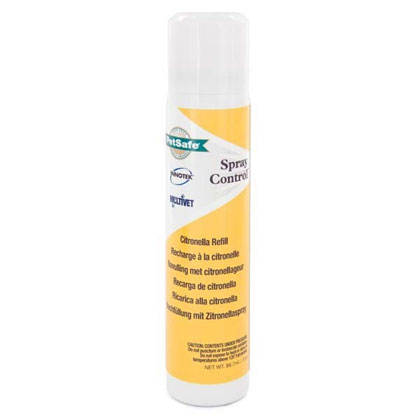 PetSafe(R) No Bark No Shock Dog Collar Spray Refill (Click for Larger Image)