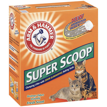 Arm & Hammer Super Scoop Scented Clump Cat Litter (Click for Larger Image)