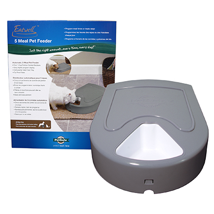 Eatwell (TM) 5-Meal Pet Feeder by PetSafe (R) (Click for Larger Image)