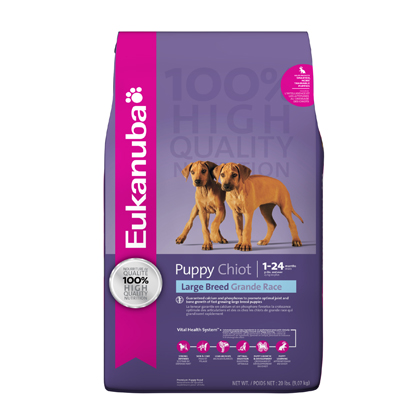 Eukanuba Large Breed Puppy Dry Dog Food (Click for Larger Image)