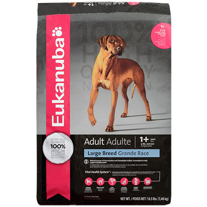 Eukanuba Large Breed Adult Dry Dog Food (Click for Larger Image)