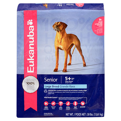 Eukanuba Large Breed Senior Dry Dog Food (Click for Larger Image)