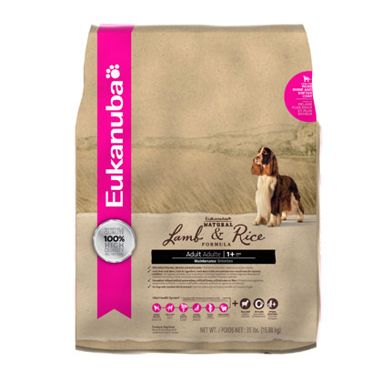 Eukanuba Lamb and Rice Dry Dog Food (Click for Larger Image)