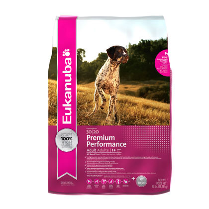 Eukanuba Premium Performance 30/20 Dry Dog Food (Click for Larger Image)
