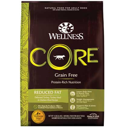 Wellness CORE Reduced Fat Formula Dry Dog Food 12lbs