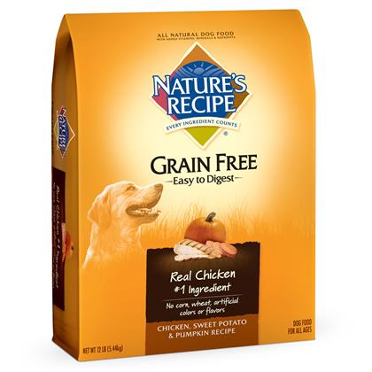 Nature's Recipe Grain Free Easy to Digest Dry Dog Food (Click for Larger Image)
