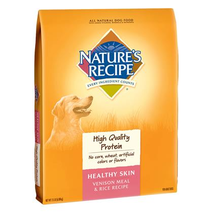 Nature's Recipe Healthy Skin Dry Dog Food (Click for Larger Image)