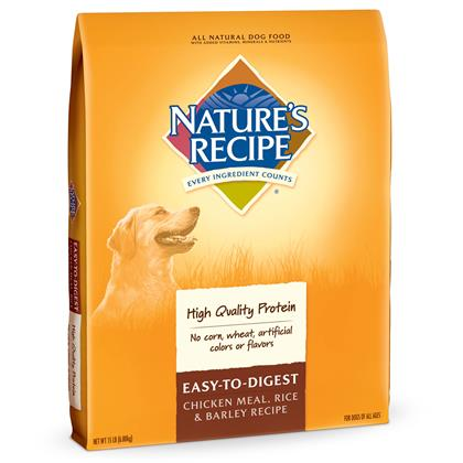Natures Recipe Easy To Digest Dry Dog Food 1800petmeds