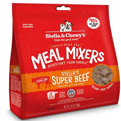 Stella & Chewy's Freeze-Dried Meal Mixers (Click for Larger Image)