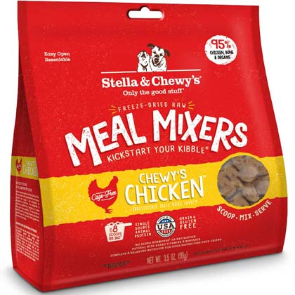 Chewy's Chicken Freeze-Dried Meal Mixers 3.5oz by 1-800-PetM