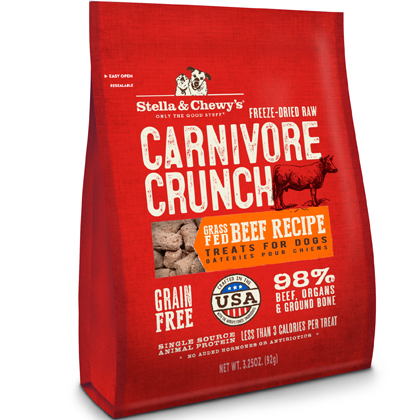 Stella & Chewy's Carnivore Crunch Freeze-Dried Treats (Click for Larger Image)
