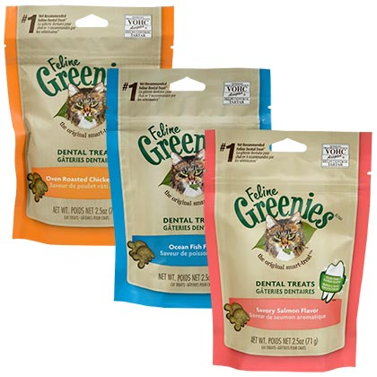 Feline Greenies Dental Treats (Click for Larger Image)