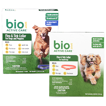 Bio Spot Active Care Flea & Tick Collar For Dogs (Click for Larger Image)