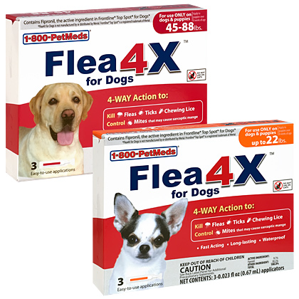 Save $12 over leading dog flea products
