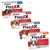 Flea4X for Dogs (Click for Larger Image)